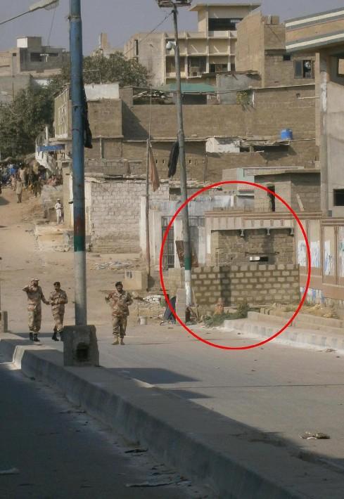 Bomb discovered at Qasba Colony