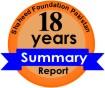 Shaheed Foundation Pakistan 18 years Summary Report