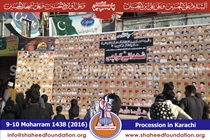 SFP Stall at 9th and 10th Moharram Procession
