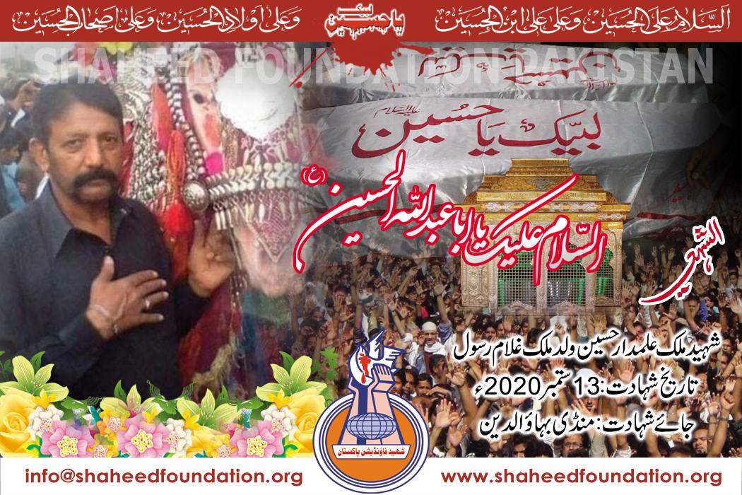 Shaheed Malik Alamdar Hussain