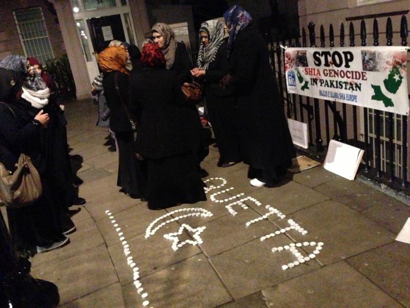 Kirani road Blast London Protest